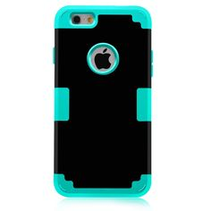For Apple iPhone 7 Case Shockproof Protect Hybrid Hard Rubber Impact Armor Phone Cases For iPhone 5//5S/5C/SE/6/6S Plus/7 Cover