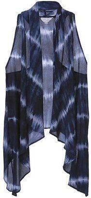 ShopStyle: Zoa Tie Dye Cascade Vest