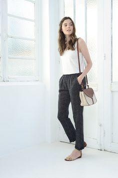 Pantalon Gabili Noir - Pantalon - Des Petits Hauts 1