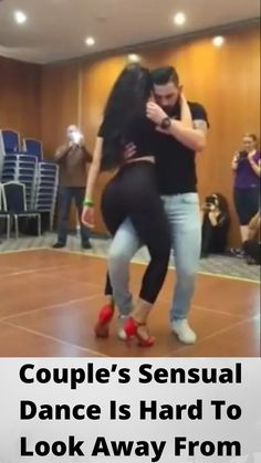 #Couple's #Sensual #Dance Is Hard To #Look Away #From