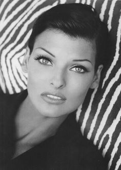 Linda Evangelista // I grew up w/this woman. Seeing her photos takes me back to when I escaped into the world of glossy haute couture mags falling in love with her and the other supermodels of my youth. Linda is my absolute favorite. Major girl crush.