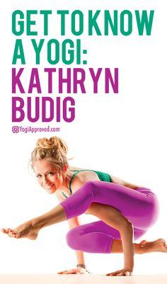 Get To Know a Yogi: Kathryn Budig