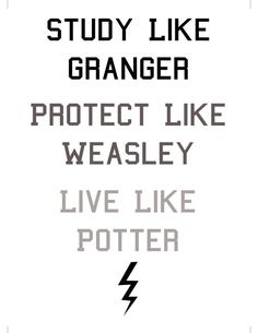 Harry Potter Digital Print. Study like por SweetestNerdyDreams