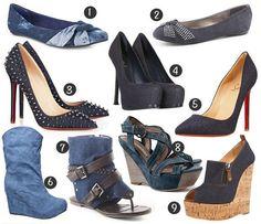 Blues Travelers: Would You Wear Denim Shoes