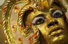 Carnival Makeup.  Maquiagem para o carnaval.