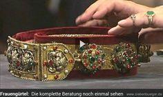 siebenbürgischer Patrizier-Spangengürtel aus Hermannstadt/Das Alte Land/Siebenbürgen