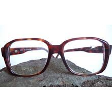 32c590999a Items similar to Silhouette Nerd Eyeglasses Old School Horn Rim Rectangular  Oversized Handmade Tortoise Chunky Geek Retro Mod Unisex Sunglasses on Etsy