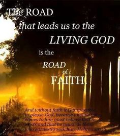 The Road * Christian in Nature- Bible Verse inside* - CafeMom