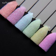 1.99$  Watch here - 6colors NailMAD Pastel Nail Glitter Set Nail Art Glitter Powder Dust Ultra-fine Glitters Mix   #buychinaproducts