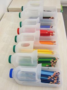 Great Storage idea for pre-schools and daycare.