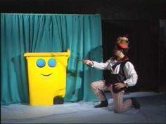 obra de teatre amb titelles sobre el reciclatge