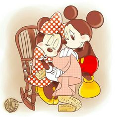 💖 Mickey and Minnie 💛