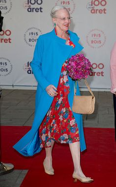 Queen Margrethe of Denmark attends The Parliament and Government's Celebration of The 100th Anniversary of The 1915 Danish Constitution, at The Tivoli Hotel and Convention Center, on June 4th, 2015 in Copenhagen, Denmark