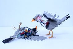 Paper Birds Investigations | Picame - Daily dose of creativity