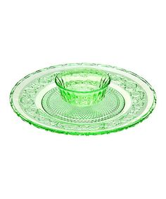 This Green Chip & Dip Platter is perfect! #zulilyfinds