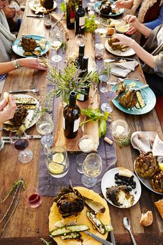 Farm to Table Dinner Party in Wine Country Paso Robles - Photo by Trinette+Chris -Resort, Lifestyle and Food Photographers San Francisco California