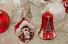 Russian Christmas ornaments.