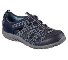 Microburst One Up de Skechers Mules Baskets Navy, Gris, 39