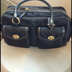 I just discovered this while shopping on Poshmark: Coach Satchel. Check it out! Price: $125 Size: OS, listed by zcoe