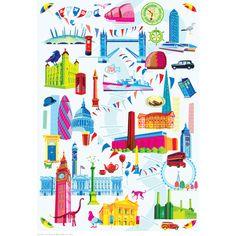 Nicola Metcalfe London (poster)   Posters   Tate Shop