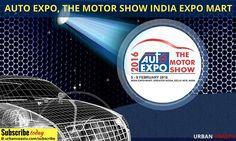 #Auto #Expo, the Motor Show India Expo Mart, Greater Noida (February 5 to 9)