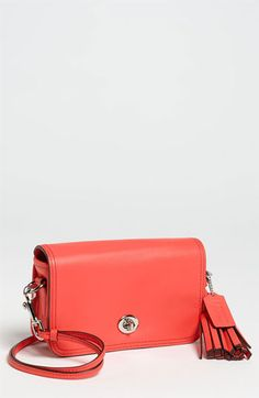 293b98fa0a COACH Leather Crossbody Bag available at  Nordstrom Trendy Accessories