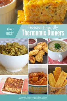 Looking for Freezer Friendly Thermomix Dinners recipes? All of these Thermoix Dinner and meals recipes are family and freezer friendly! Easy Weeknight Meals, Easy Meals, Easy Recipes, Savoury Recipes, Kids Meals, Vegetable Pasta Bake, Homemade Pastries, Homemade Food, Baked Chicken Tenders