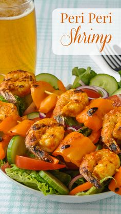 Peri Peri Shrimp Not Just For Portuguese Chicken This Delightfully Spicy Fresh And Tangy Peri Peri Sauce Is Also Incredibly Delicious On Quickly Grilled