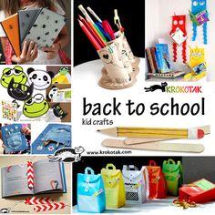 Back to school - kid crafts
