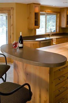 Best Concrete Countertops Portland Pictures   Home Decorating .