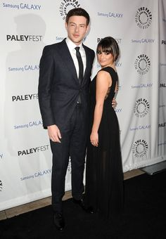 Lea Michele and Cory Monteith at PaleyFest Icon Award 2013 Honoring Ryan Murphy at #PaleyCenterForMedia in Beverly Hills on Feb 27, 2013. http://celebhotspots.com/hotspot/?hotspotid=23526&next=1