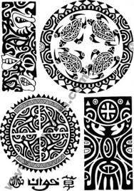 Maori Chief Facial Tattoo Pattern Etching Intaglio Pinterest
