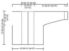 "BabyDROPS 20-11 - Casaco DROPS com gola xaile e abotoamento duplo, em ""Fabel"". - Free pattern by DROPS Design"