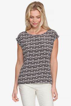 Cherie Printed Top