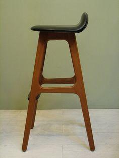 mid century bar stool