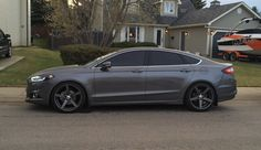 2013 Ford Fusion lowered | Lowered 2013 Ford Fusion Fs: 2013 ford fusion titanium - awd turbo