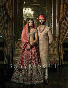 By designer Sabyasachi Mukherjee. Shop for your wedding trousseau, with a…
