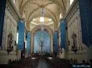 Had a cappuccino and crepes and then walked across the street to this gorgeous cathedral in Tepic Mexico