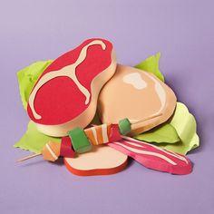 Paper Craft Sculptures Of Food 4