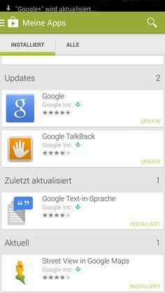 Google+ wird aktualisiert