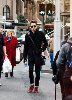 on the street #style #man