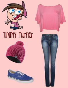 """""""Timmy Turner :D"""" by maritabelieber4ever ❤ liked on Polyvore"""