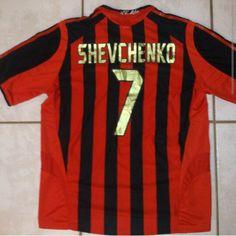 ADIDAS AC Milan SHEVCHENKO Soccer Jersey