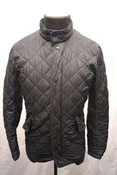 Barbour #chelsea flyweight #sports quilt jacket #black small fm59,  View more on the LINK: 	http://www.zeppy.io/product/gb/2/162066304993/