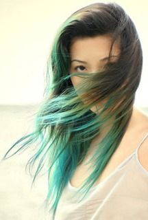 I think blue dipdye is going to be my next hair...