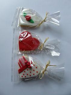 Il Goloso Mondo di Minu': Biscotti decorati di San Valentino