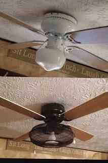 DIY Ceiling Fan Redo