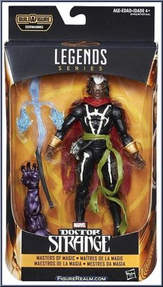 Brother Voodoo from Marvel Legends - Infinite Series - Dormammu Series manufactured by Hasbro [Front]
