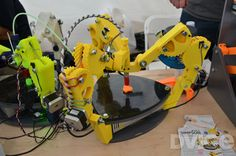 Here come the 3D-printed 3D printers