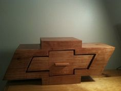 Chevy Bandsaw Box - by Beem @ LumberJocks.com ~ woodworking community